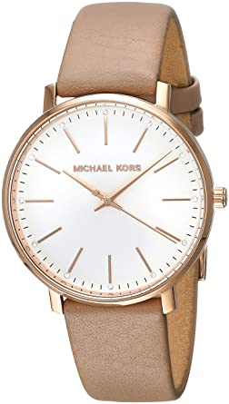 86cf47a8e Amazon.com: Michael Kors Women's Pyper - MK2748 Brown One Size: Michael Kors:  Watches