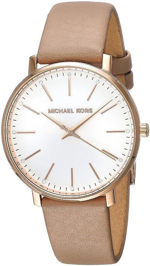 Amazon.com: Michael Kors Womens Pyper - MK2748 Brown One Size: Michael Kors: Watches