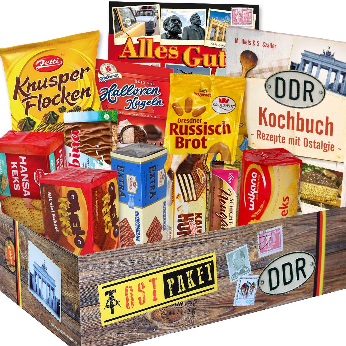 DDR Keks Box mit DDR Waren