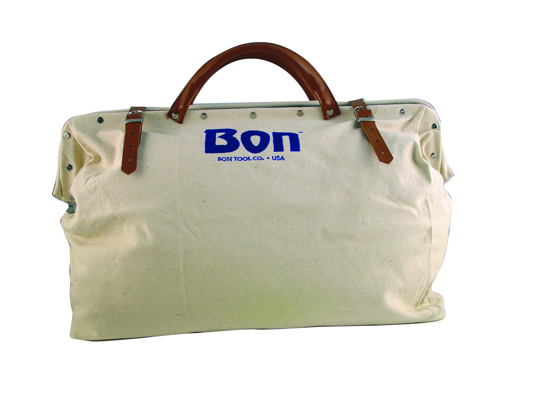 Bon 11-127 20-Inch by 5-1/2-Inch Heavy Duty Canvas Tool Bag