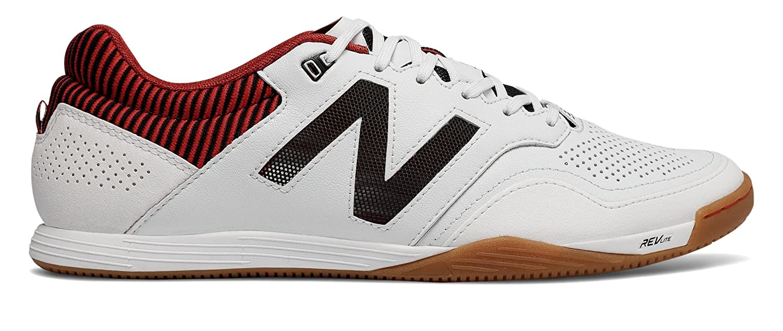 [New Balance(ニューバランス)] 靴シューズ メンズサッカー Audazo 2.0 Pro IN White with Black and Burgundy ホワイト ブラック バーガンディ US 5.5 (23.5cm) B07D8Y8T3V