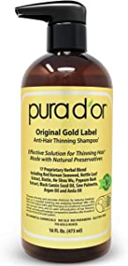 Sweepstakes: PURA D'OR Original Gold Label Anti-Thinning Shampoo Clinically...