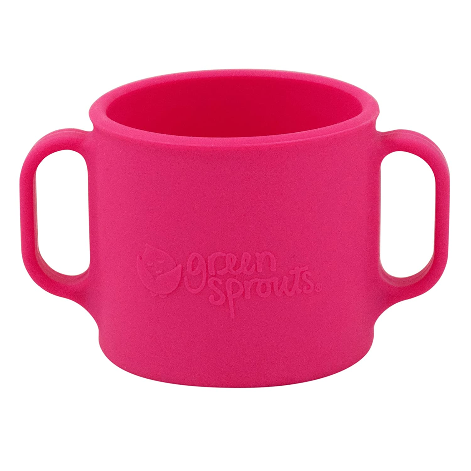 Pink green sprouts Learning Cup