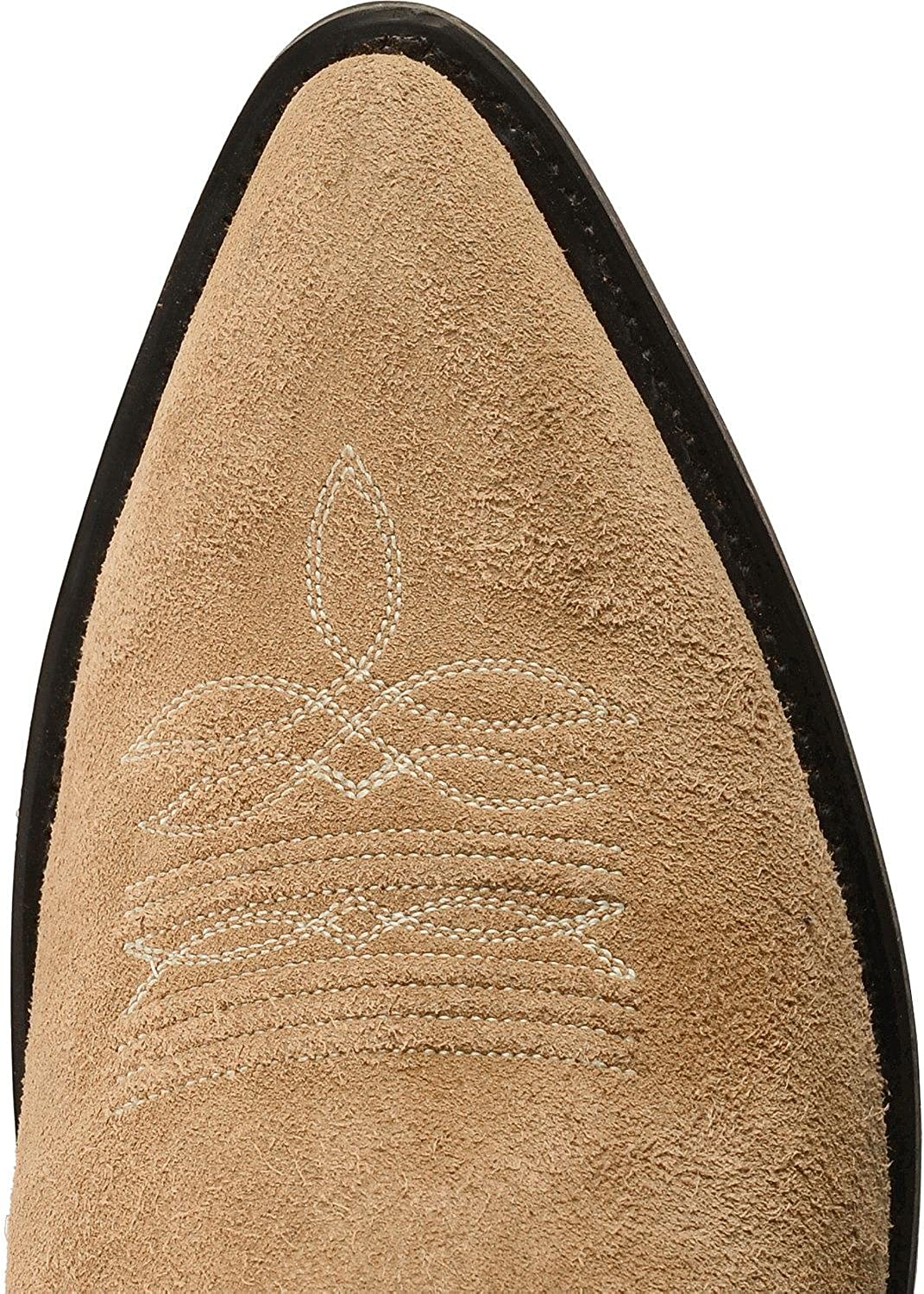 Roughout Suede Cowboy Boot