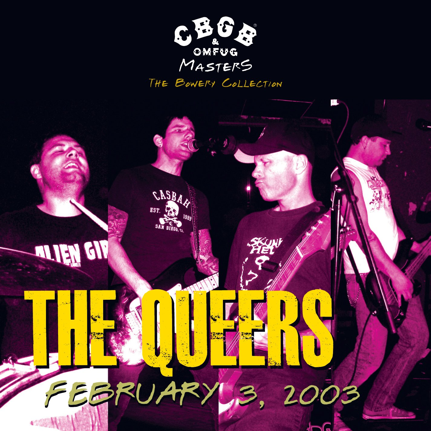 CBGB OMFUG Masters: Live 2/3/03, The Bowery Collection