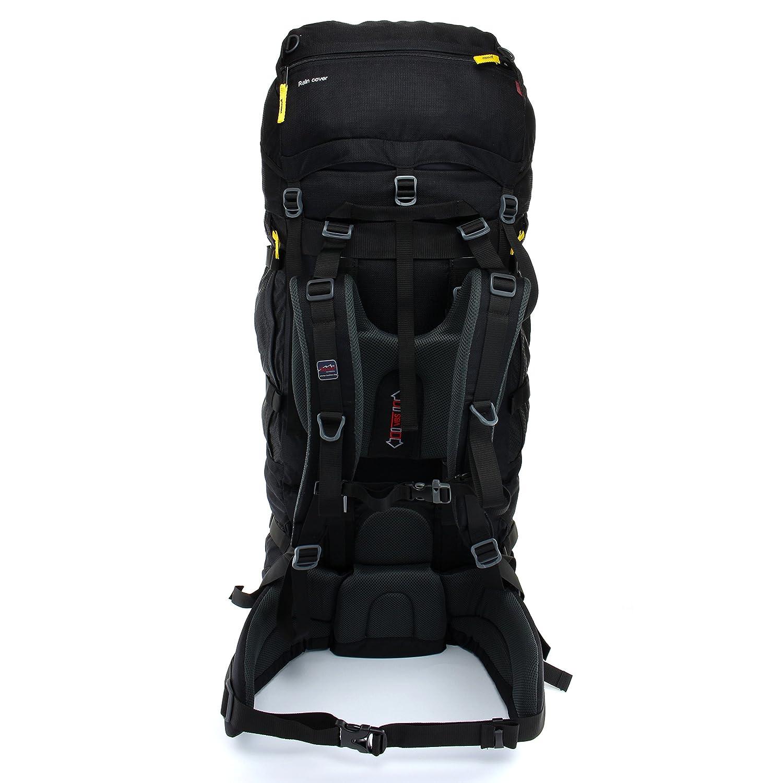 Mochila de Trekking 100L + 20L TASHEV MOUNT 120 litros con cubierta impermeable: Amazon.es: Deportes y aire libre