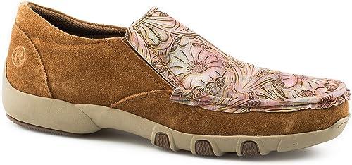 Casual Shoe Moccasin, Tan: Amazon.ca
