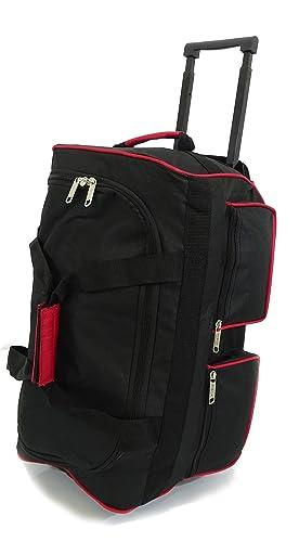 Extra Large 40 Quot Wheeled Holdall Suitcase Luggage Trolley