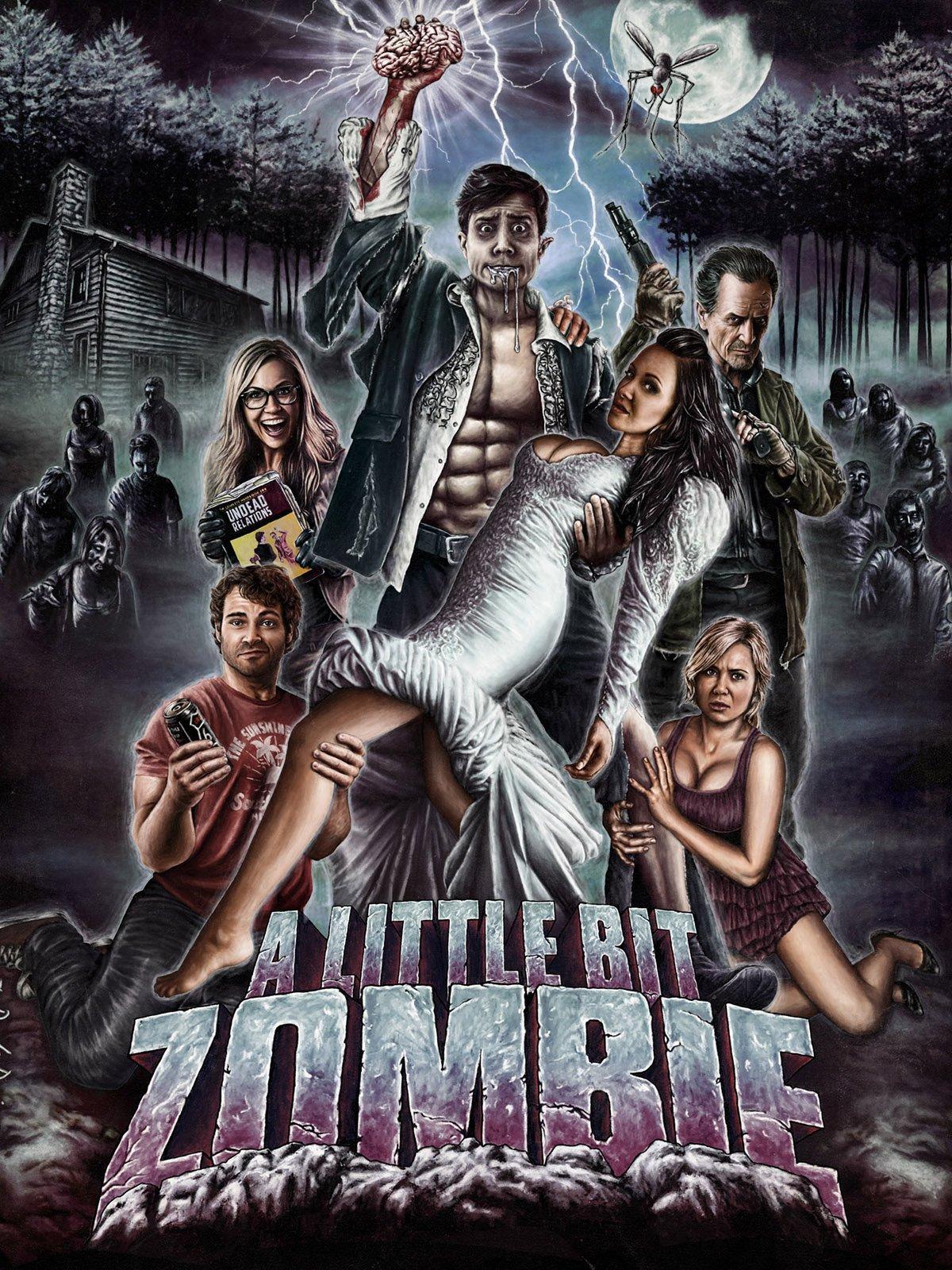 Amazon A Little Bit Zombie Crystal Lowe Shawn Roberts