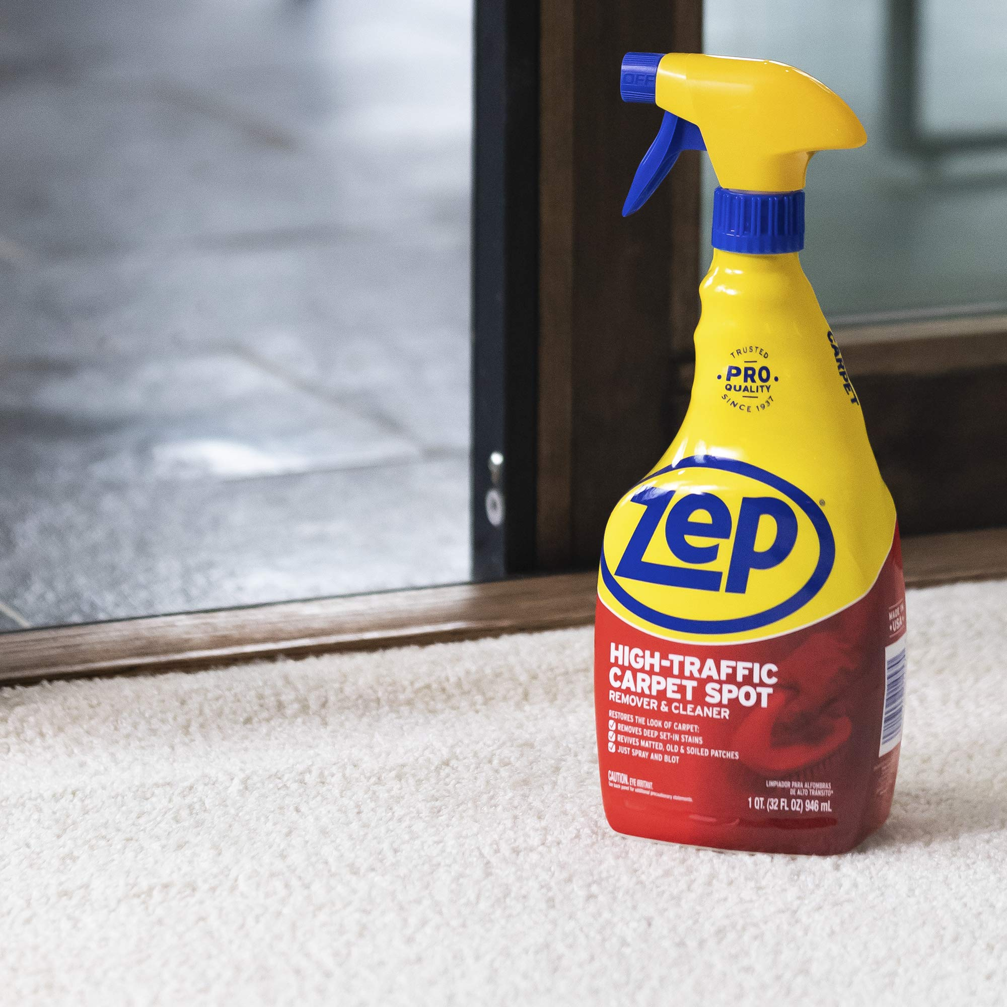 ZEP High Traffic Carpet Cleaner 32 Ounces ZUHTC32 (Case of 12) by Zep (Image #6)