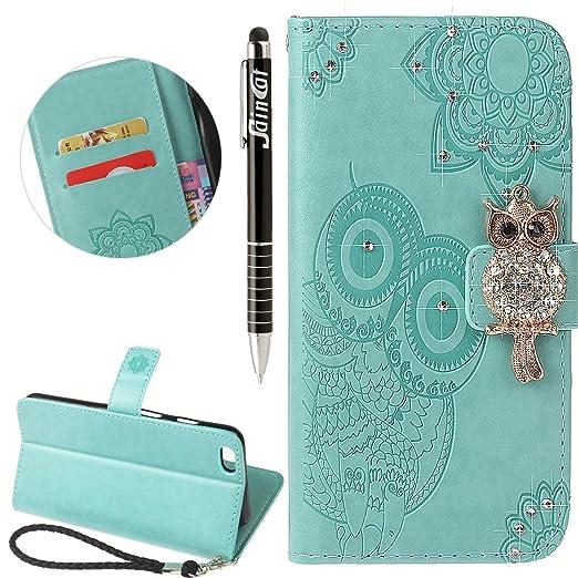 1 opinioni per Custodia iPhone 6 Plus Glitter, iPhone 6S Plus Cover Wallet, SainCat Custodia in