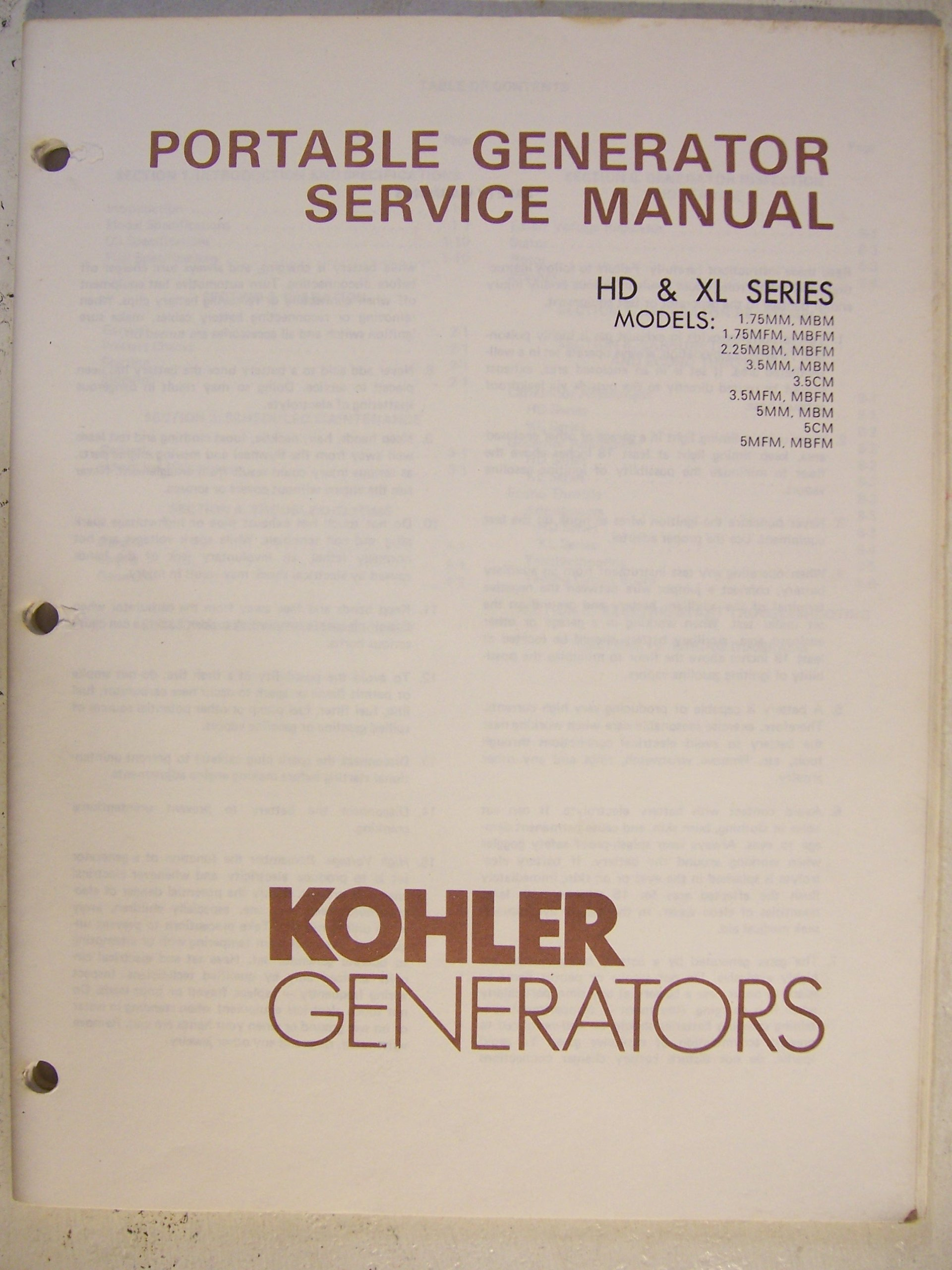Kohler Generators - Portable Generator Service Manual HD ... on kohler kt17qs diagram, kohler command wiring diagrams, kohler generator special tools, kohler engine electrical diagram, lifan generators wiring diagram, kohler engine wiring diagrams, kohler generator schematics, remote spotlight wiring diagram, kohler engine parts diagram, kohler generators start stop, kohler generator fuel tank, decision maker 3 wiring diagram, case 446 tractor wiring diagram, kohler k321 engine diagram s, kohler charging system diagram, kohler key switch wiring diagram, kohler wiring diagram manual, 240v single phase motor wiring diagram, kohler generator parts diagram, case tractor starter wiring diagram,