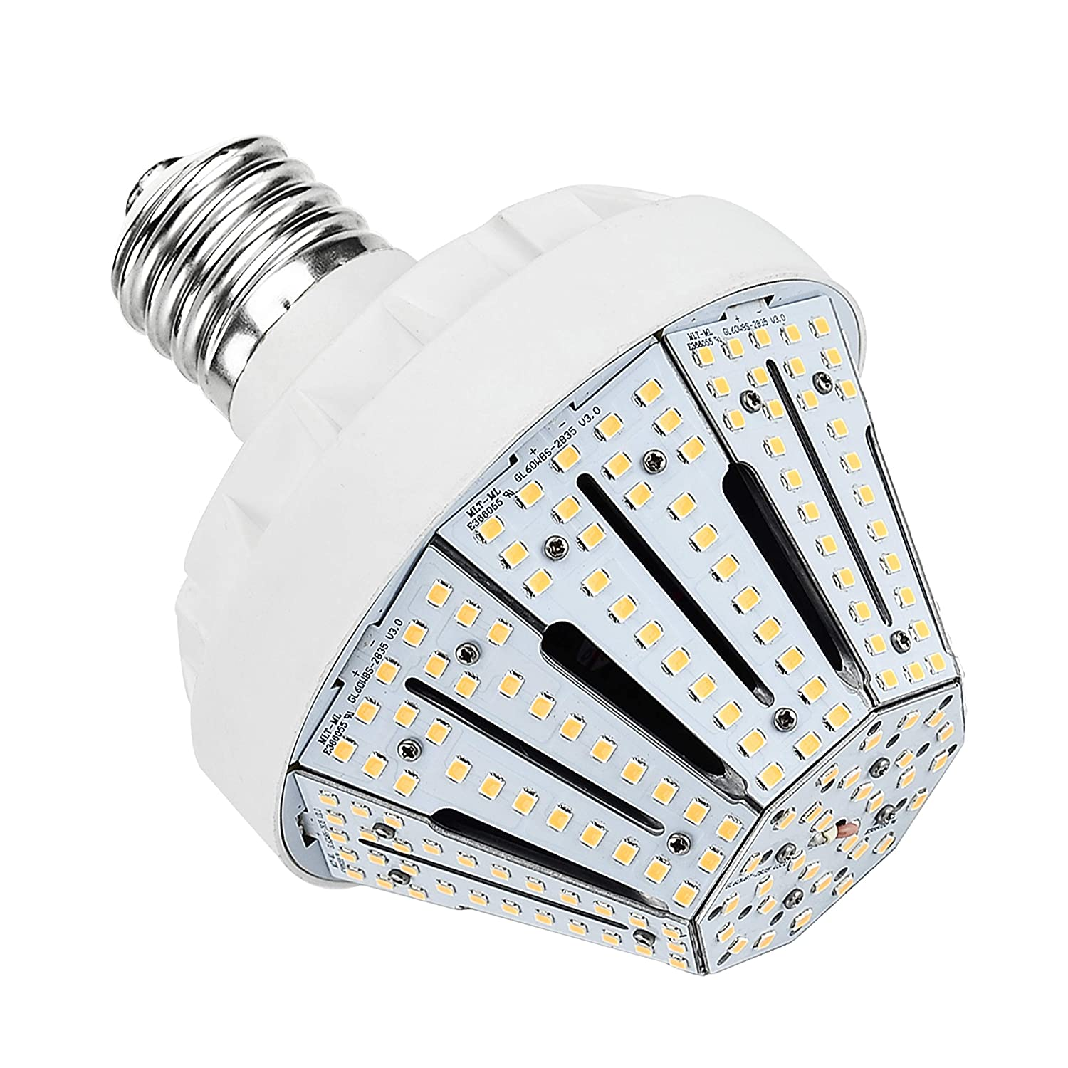 New Sunshine 60W LED Corn Light Bulb-E39 9150 Lumen 4000K Pure White Daylight UL&DLC Certified Replacement CFL/MH/HID/HPS,for Low Bay,Street Lamp,Post Lighting,Garage,Factory,Warehouse,Canopy Light