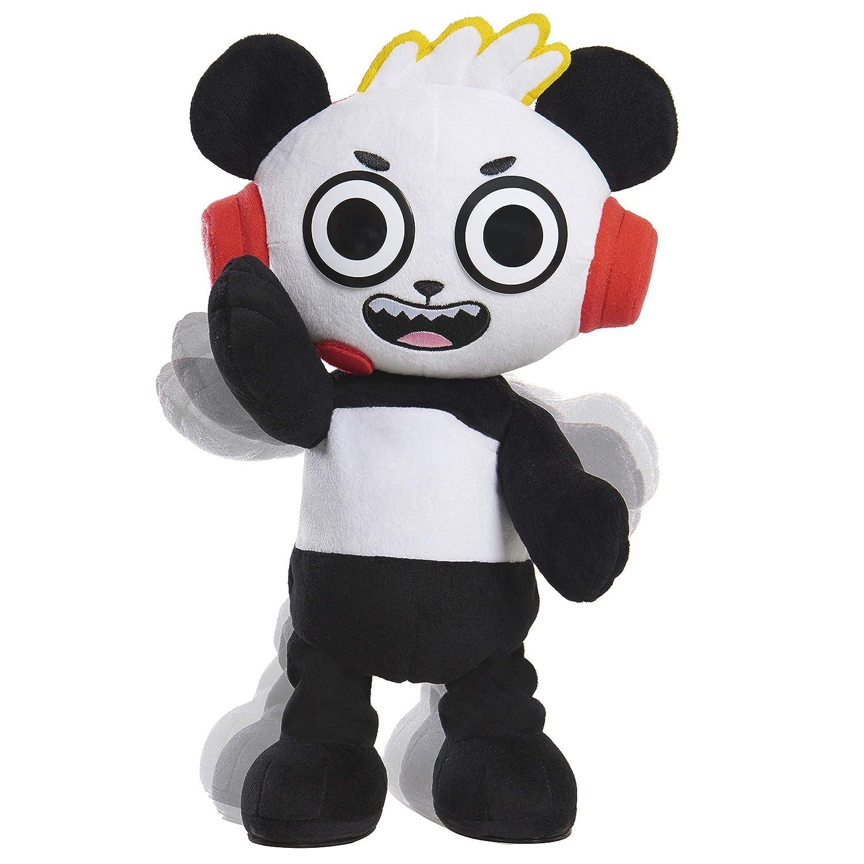 B07MX4N17L RYAN'S WORLD Combobunga Panda Feature Plush 81I0afog1oL