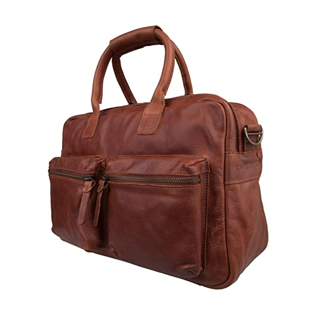 COWBOYSBAG Le sac 1030 Week-end sac de voyage, sac en cuir, noir, 46x36x14 cm (L x H x P)