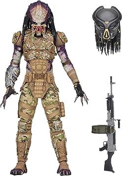NECA Figura Predator 20 cm. The Predator 2018 (El Depredador ...