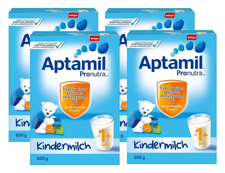 Aptamil Kinder-Milch 1+ ab dem 12. Monat - 4er Pack (4 x 600g)