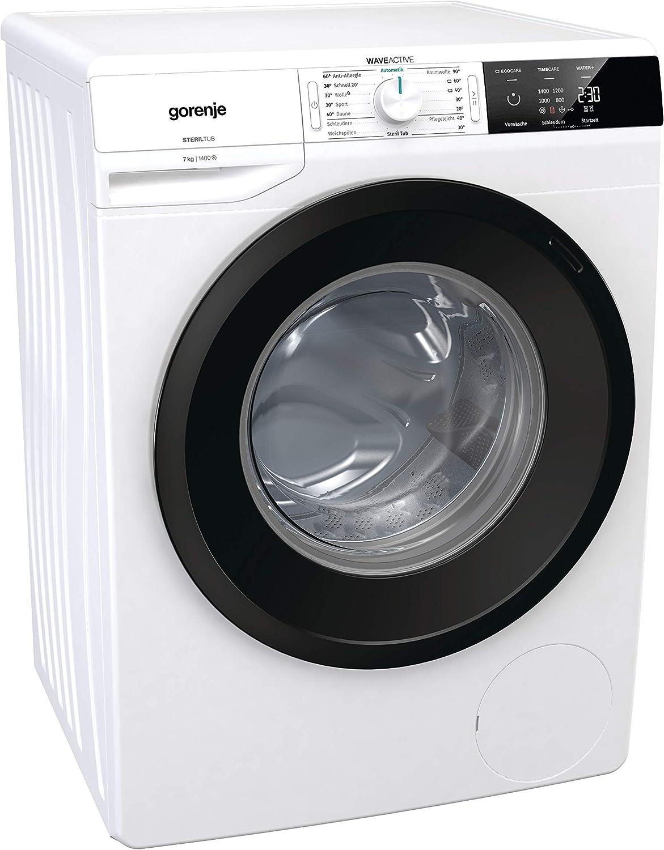 Lavadora Gorenje W3E743P A+++ 1400 U/min 7 kg Display Silent+