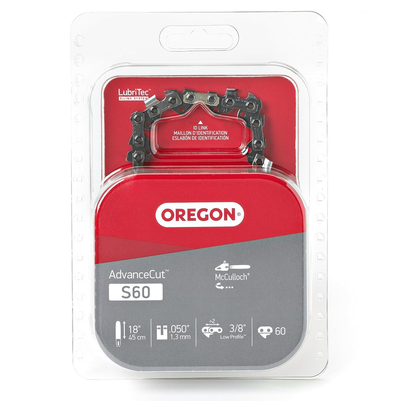 Amazon.com: Oregon 18-Inch Semi Cadena cincel cadena de ...