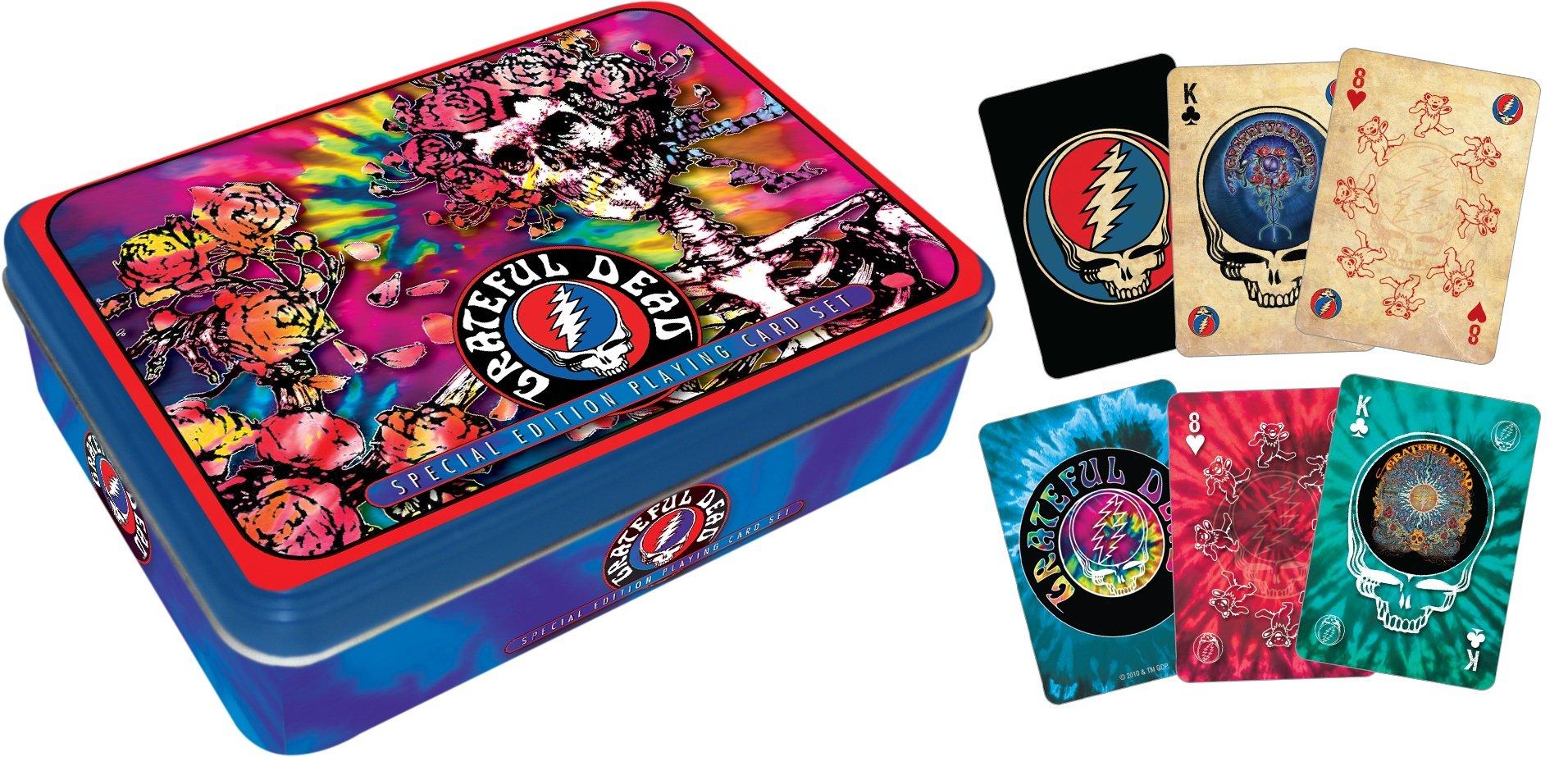 Aquarius Grateful Dead Playing Card Gift Tin