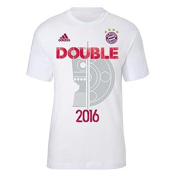 XXL T-Shirt Double 2016 adidas FC Bayern MÜNCHEN Munich Tshirt FCB Tshirt  FCB XXL