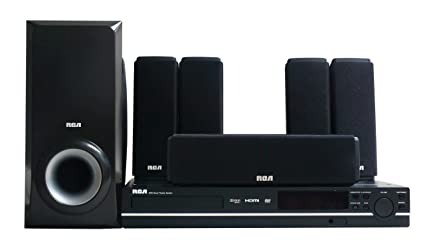 amazon com rca rtd317w home theater system with 1080p upconvert dvd rh amazon com RCA RTD317W Remote FM Antenna RCA RTD317W