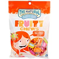 The Natural Confectionery Company Fruity Chews Lollies, 12 x 180 Grams