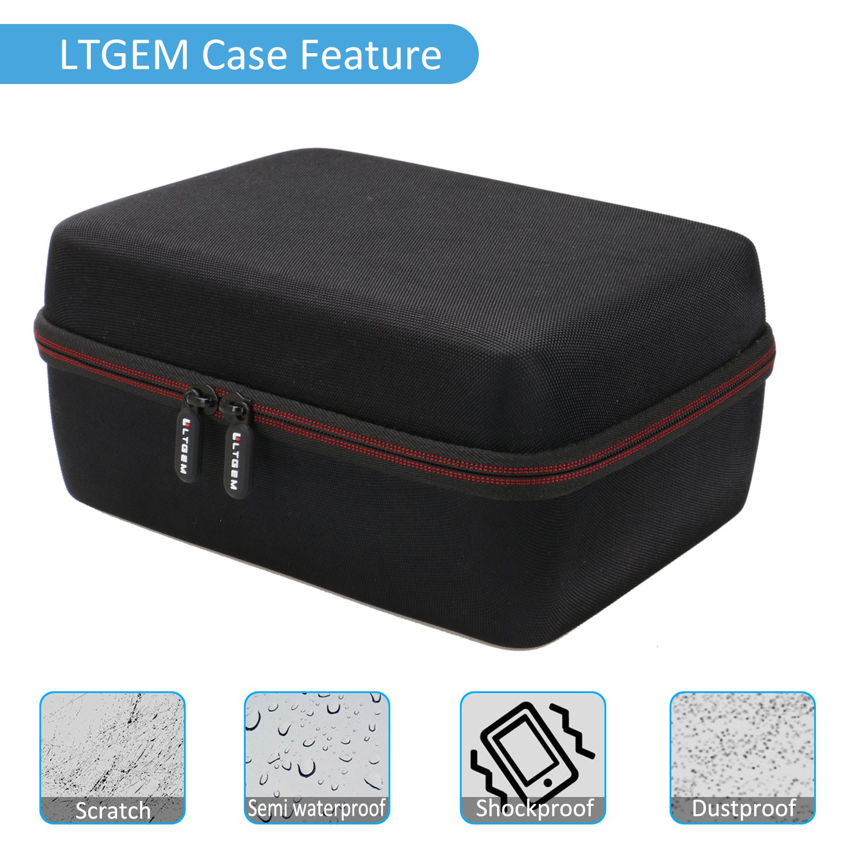 LTGEM EVA Hard Case for Blusmart LED-9400 Video Projector 2018 Upgraded +70% Brightness Portable Mini Projector - Travel Protective Carrying Storage Bag by LTGEM (Image #8)