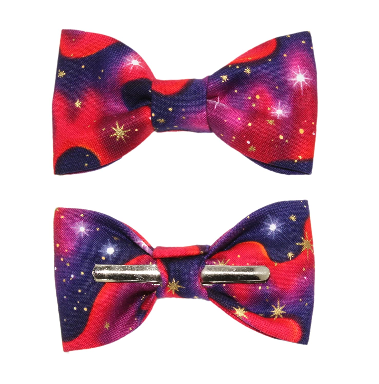 Toddler Boy 4T 5T Star Gazer Galaxy Clip On Cotton Bow Tie Bowtie amy2004marie 113139