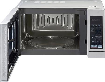 LG MH6044V - Microondas, 800 W, 20 l, color gris: Amazon.es: Hogar
