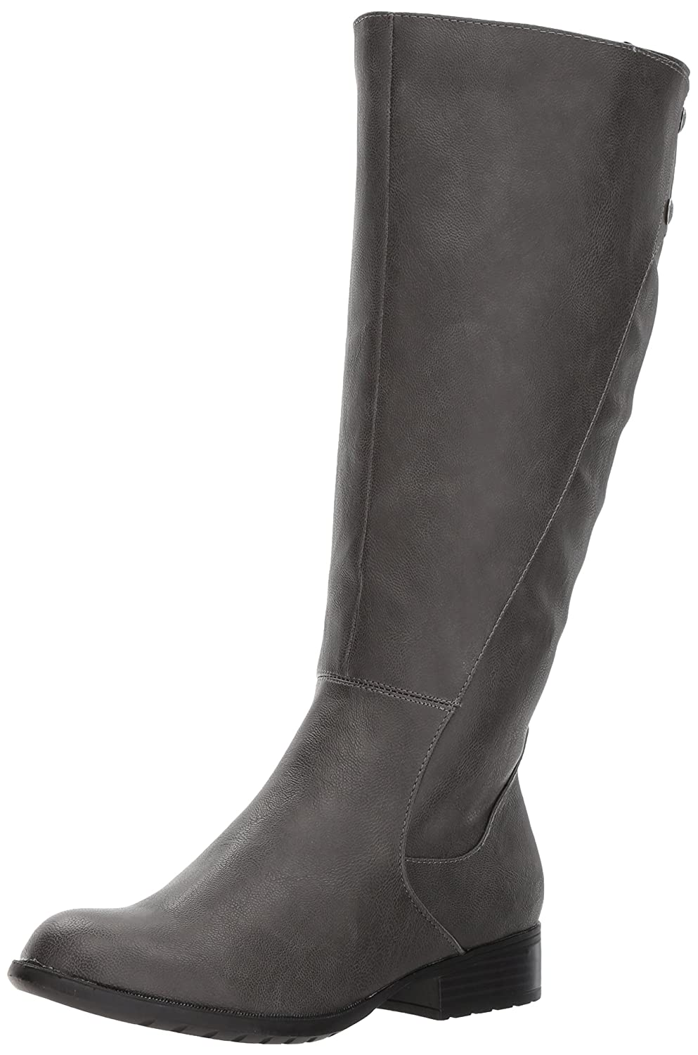 LifeStride Women's Xripley-Wc Riding Boot B07219572F 9.5 B(M) US|Dark Grey