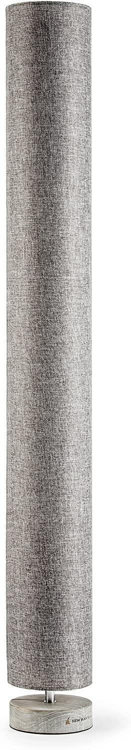 New Haven – Large Column Floor Lamp – Charcoal