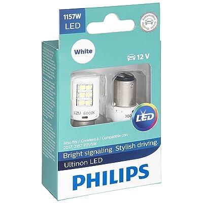 Philips 1157 Ultinon LED Bulb (White), 2 Pack: Automotive