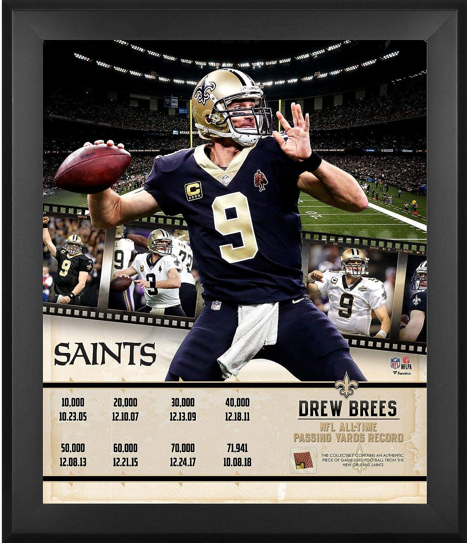 75568cb1 Amazon.com: Drew Brees New Orleans Saints Framed 20