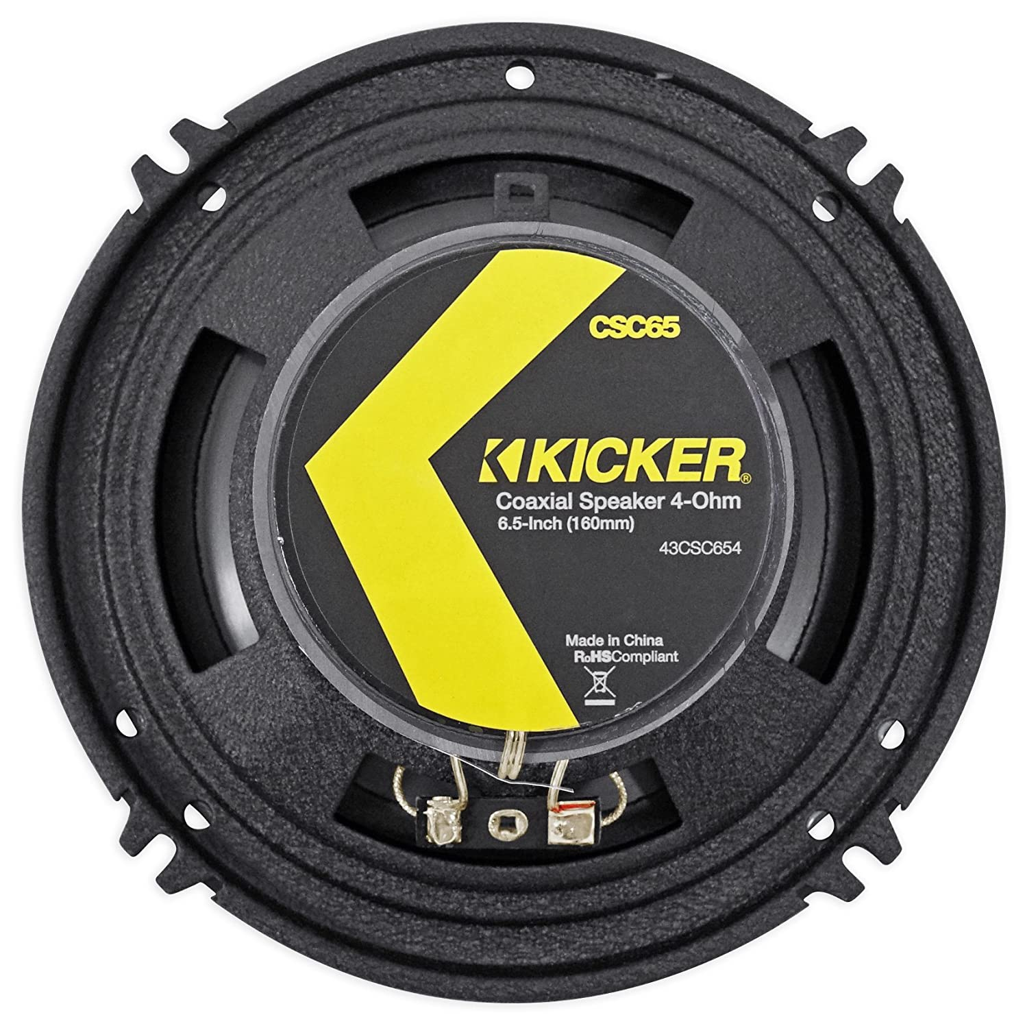 Amazon.com: Package: Pair of Kicker 40CS654 6.5