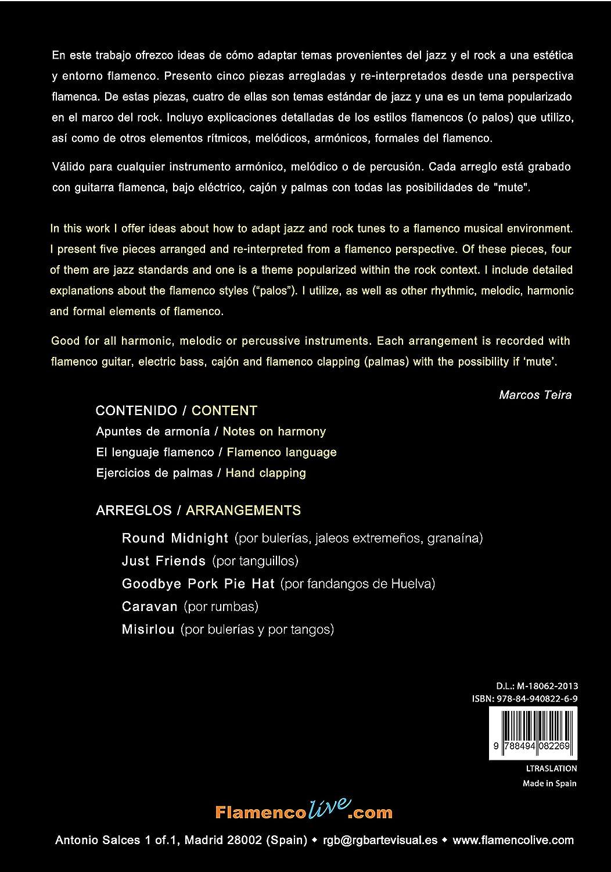 Flamenco Jazz Translations (Libro/CD) - Marcos Teira: Marcos Teira ...