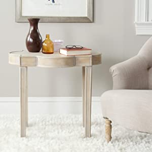 Safavieh American Homes Collection Quatrefoil Top End Table, Mizel Gery