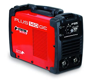 Styayer Welding - Stayer Welding Plus 140 Ge (S35.13) Inverter Mma Soldadura