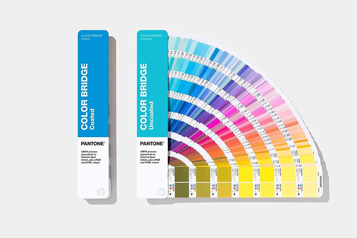 Pantone GP6102A Set- 2020 Edition Coated and Uncoated Color Bridge Set, Multicolored