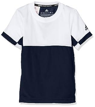 adidas Oberbekleidung T16 Climacool Tee YB: : Sport