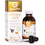 NaturPet Urinary Care | 100% Natural Urinary Tract Support for Cats | Urinary Tract Support for Dogs | Gravel & Stones | 100 mL 3.3 oz | Health Canada NN.Y9V3