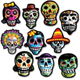 beistle day of the dead cutouts - Day Of The Dead Halloween Decorations