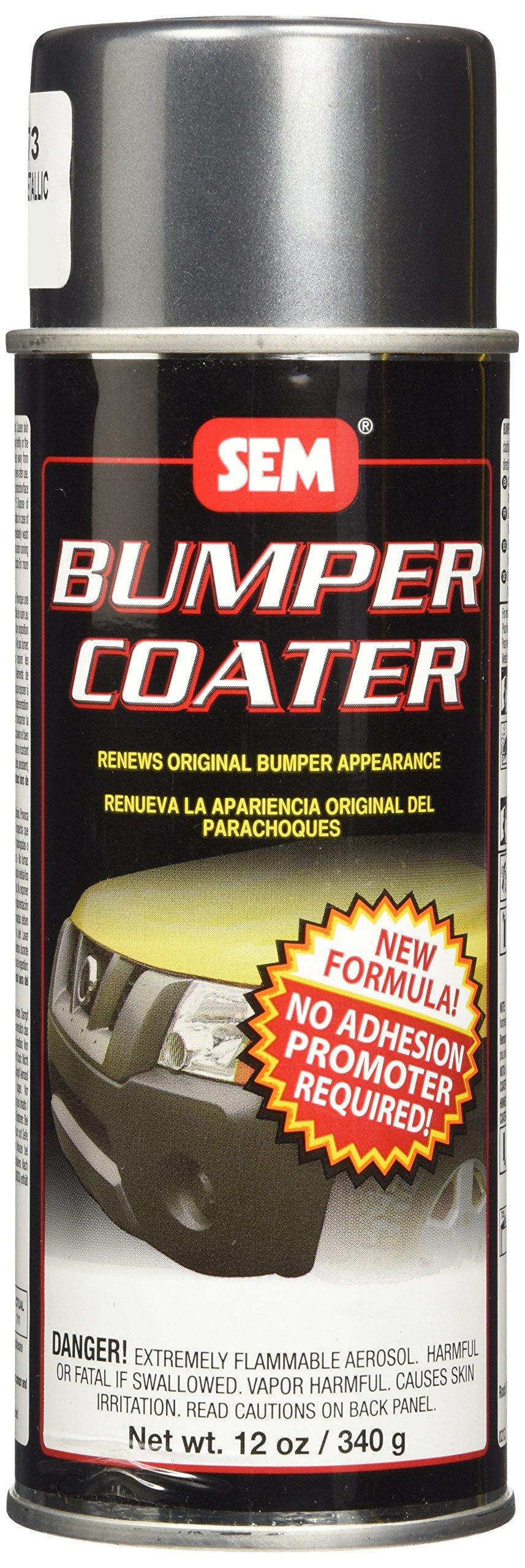 SEM 39273 Charcoal Bumper Coater Aerosol - 13 oz.