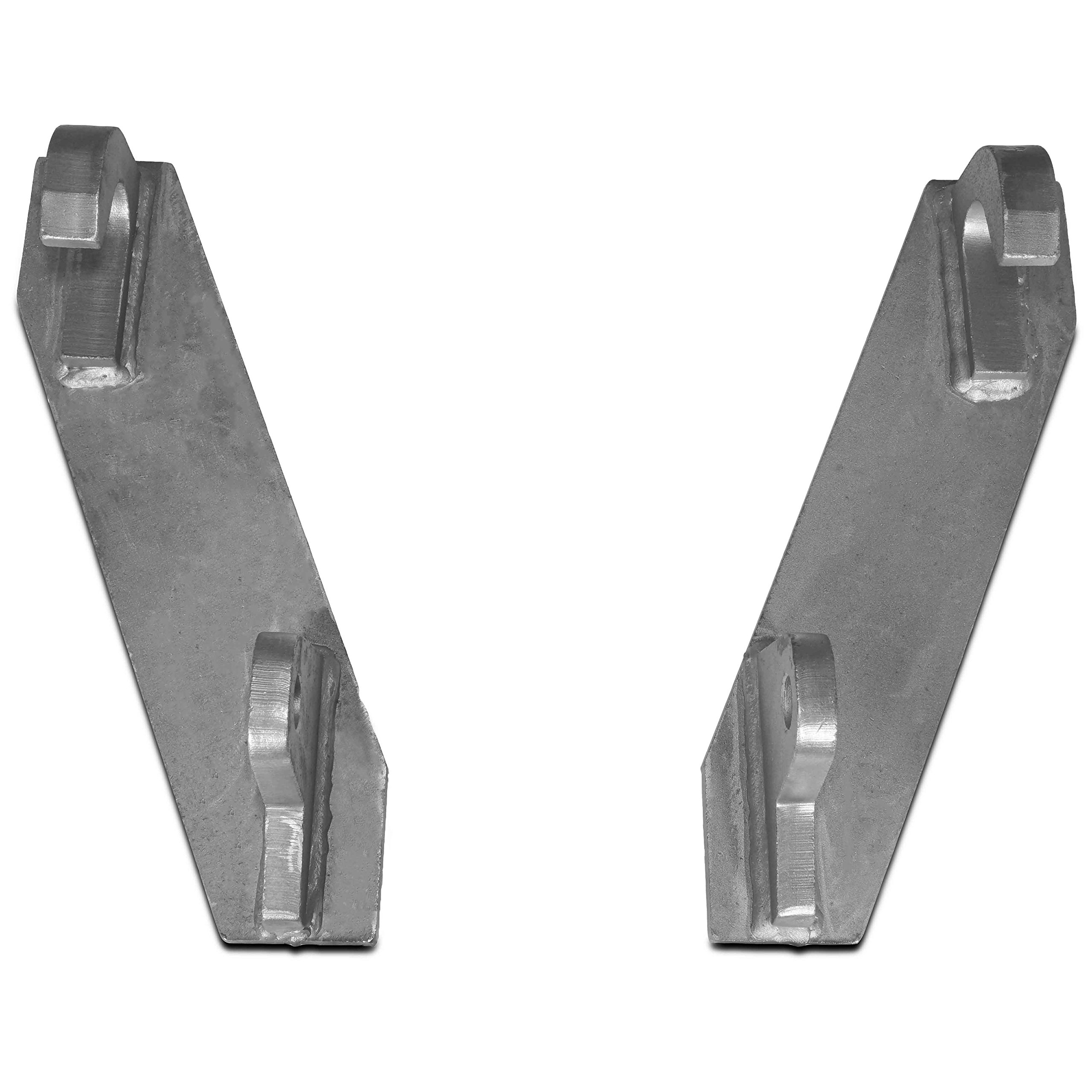 Titan Mounting Brackets made to fit John Deere Global Euro loaders by Titan Attachments