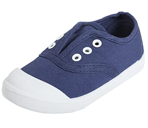 Amazon.com | Kikiz Candy Color Kids Toddler Canvas Sneaker Boys ...