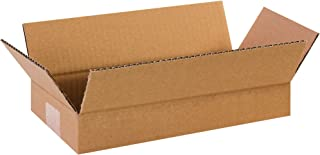 "product image for Partners Brand P1262 Long Corrugated Boxes, 12""L x 6""W x 2""H, Kraft (Pack of 25)"