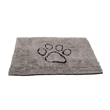 Incroyable Dog Gone Smart Dirty Dog Doormat, Large, Grey
