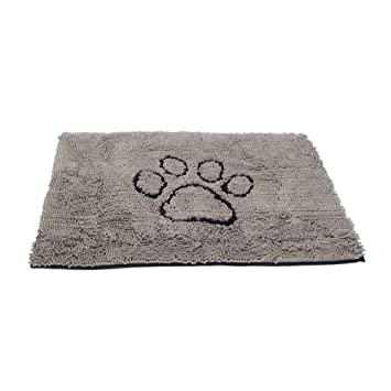 Dog Gone Smart Dirty Dog Doormat, Large, Grey