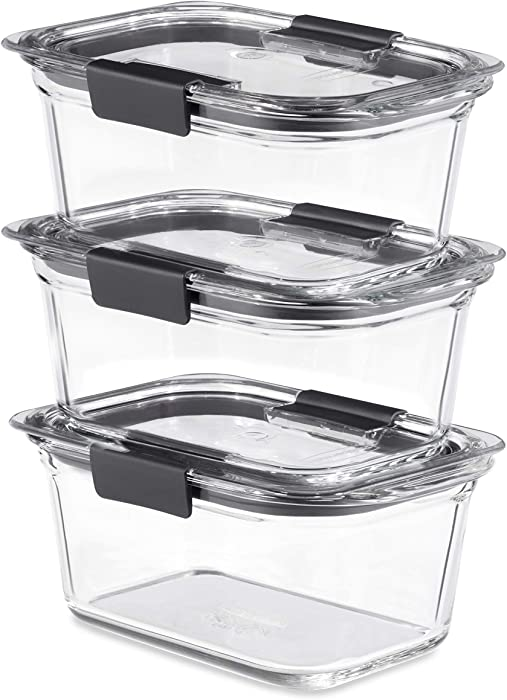 The Best 4Cup Food Storage Container Glass
