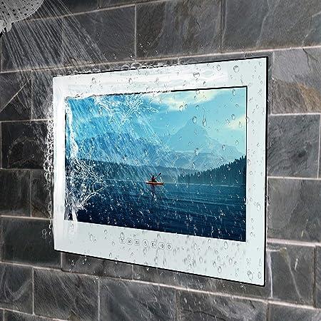 Haocrown Led Smart Tv Fur Badezimmer Ip66 Wasserdichter Amazon De Elektronik